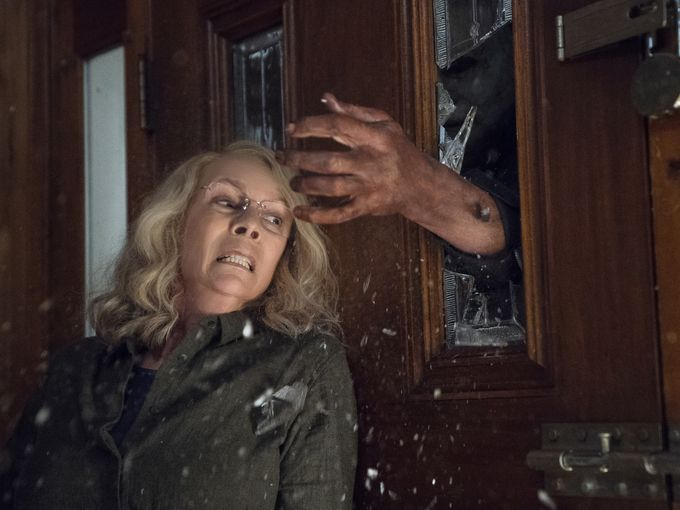 Jamie Lee Curtis is Laurie Strode in 'Halloween'. (photo: USA Today)