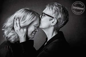 Jamie Lee Curtis photographed exclusively for Entertainment Weekly by Art Streiber on September 17th, 2018 in Los Angeles.