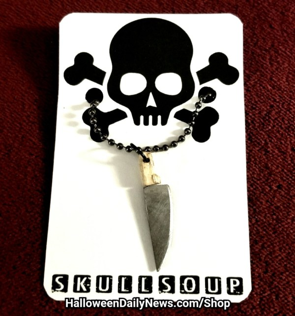 Butcher Knife Pendant by Skull Soup
