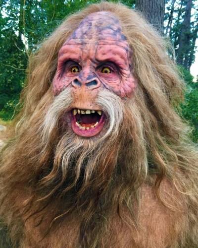 Douglas Tait as the Jack Links Sasquatch.