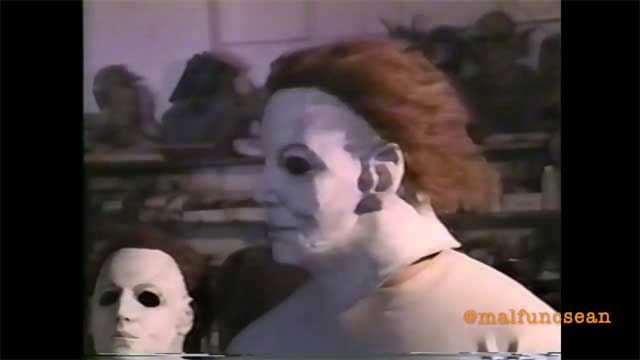 Halloween H20 Convention 2020 Halloween H20' Michael Myers Mask Camera Test Videos Unearthed