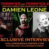 [Interview] Damien Leone Talks 'Terrifier' Films, Creating Art the Clown, and Halloween (Part 1)
