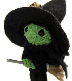 witch string doll