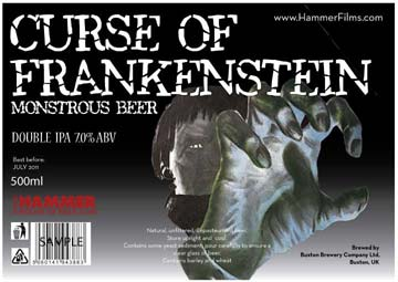 curse of frankenstein beer