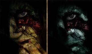 photoshop zombie