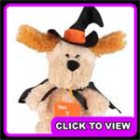 Asda Halloween ear flapping dog