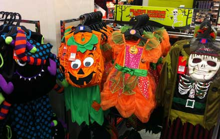 M&S halloween costumes