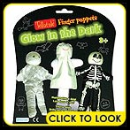 glow in the dark finger puppets