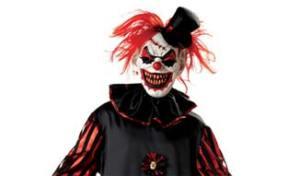 evil clown all fancy dress