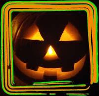 carved pumpkin jack-o-lantern