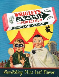Wrigleys Halloween gum