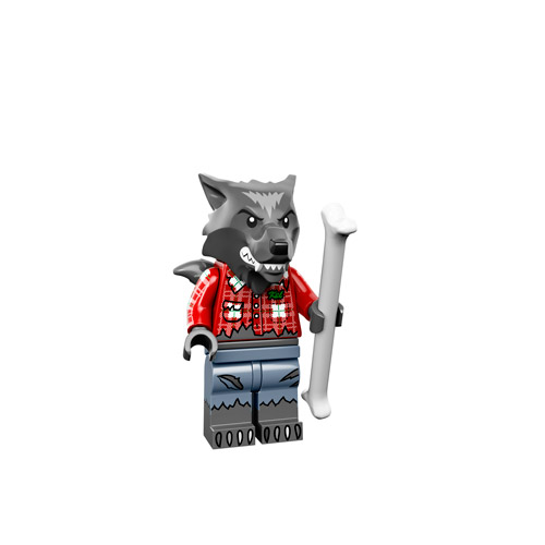 Lego Monsters Minifigure wolfman