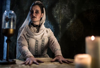 London Dungeon Halloween 2015 seance
