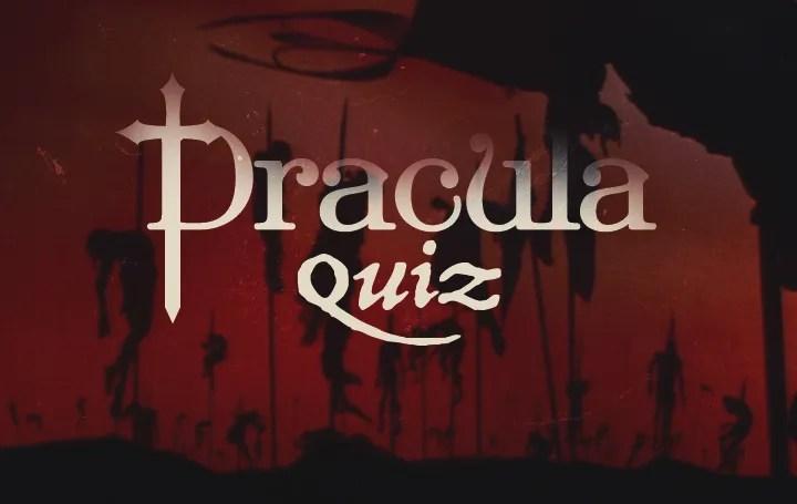 Dracula Trivia Quiz