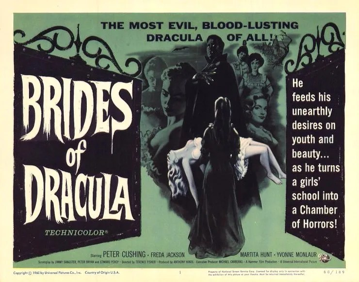 The Brides of Dracula (1960) 2