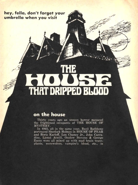 ? the House that Dripped Blood(1971)FULL MOVIE 40