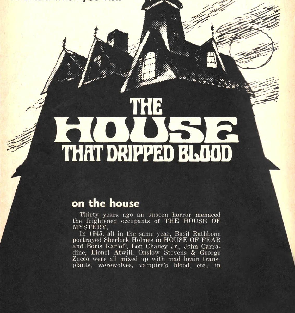 ? the House that Dripped Blood(1971)FULL MOVIE 38