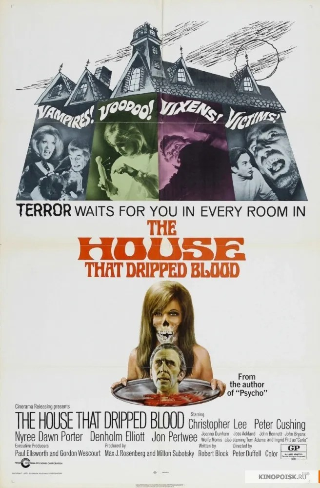 the House that Dripped Blood(1971)FULL MOVIE 6