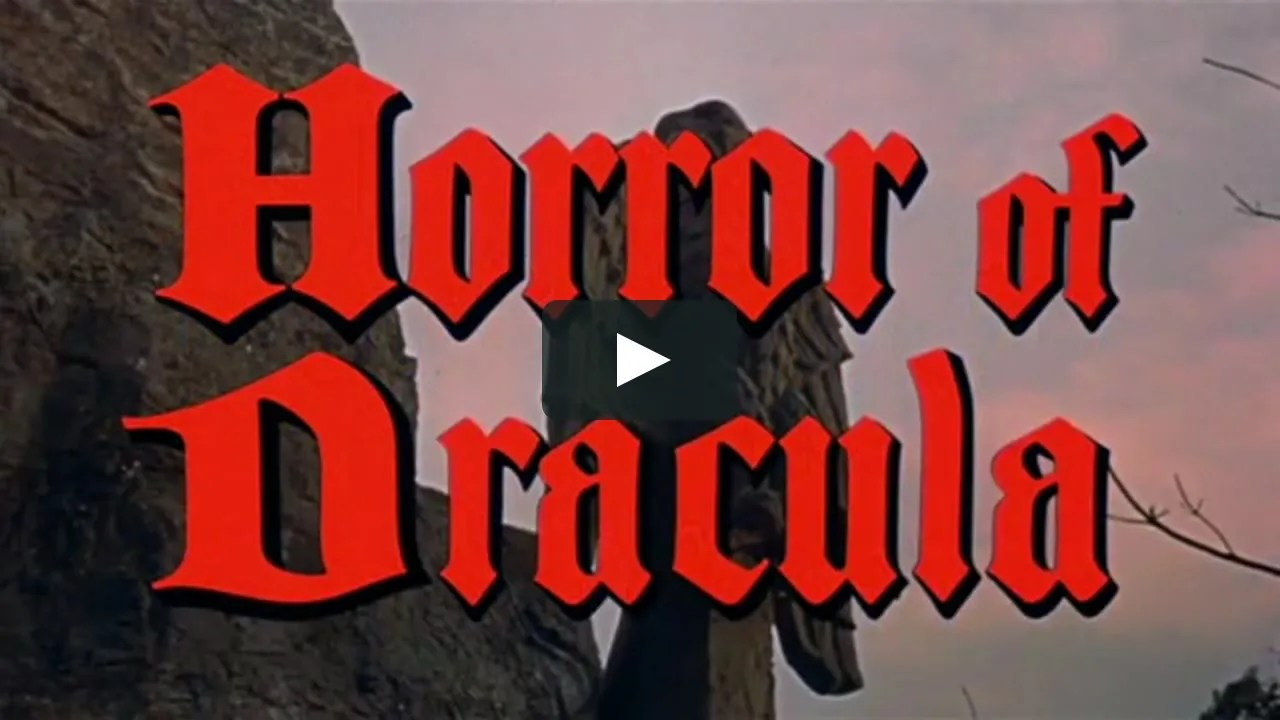🎥 the Horror of Dracula (1958) FULL MOVIE 1