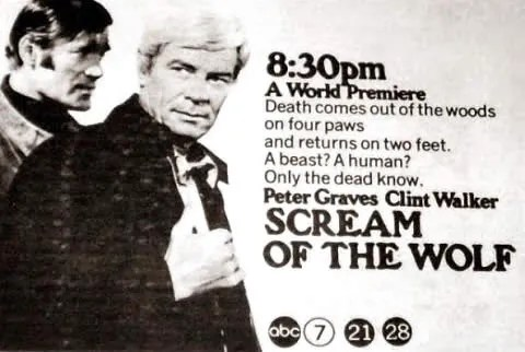 Scream of the Wolf (1974)(TV) FULL MOVIE 2