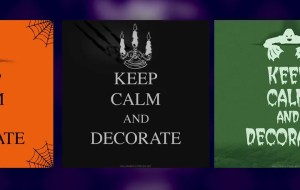 Read more about the article Keep Calm and Decorate Halloween 2021