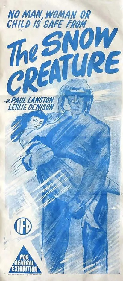 the Snow Creature (1954) 1