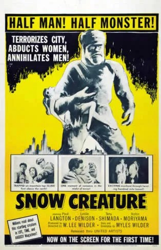 🎥 the Snow Creature (1954) 4