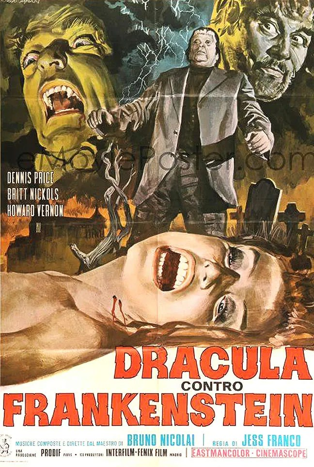 Dracula vs Frankenstein (1971)(IT) FULL MOVIE 1