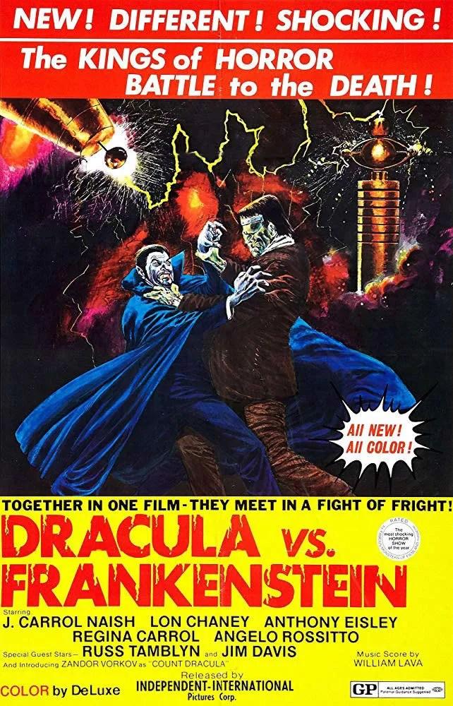 🎥 Dracula vs Frankenstein (1971)(US) FULL MOVIE 4