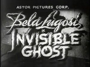 Invisible Ghost (1941) FULL MOVIE