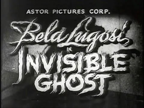 🎥 👻 Invisible Ghost (1941) FULL MOVIE 1