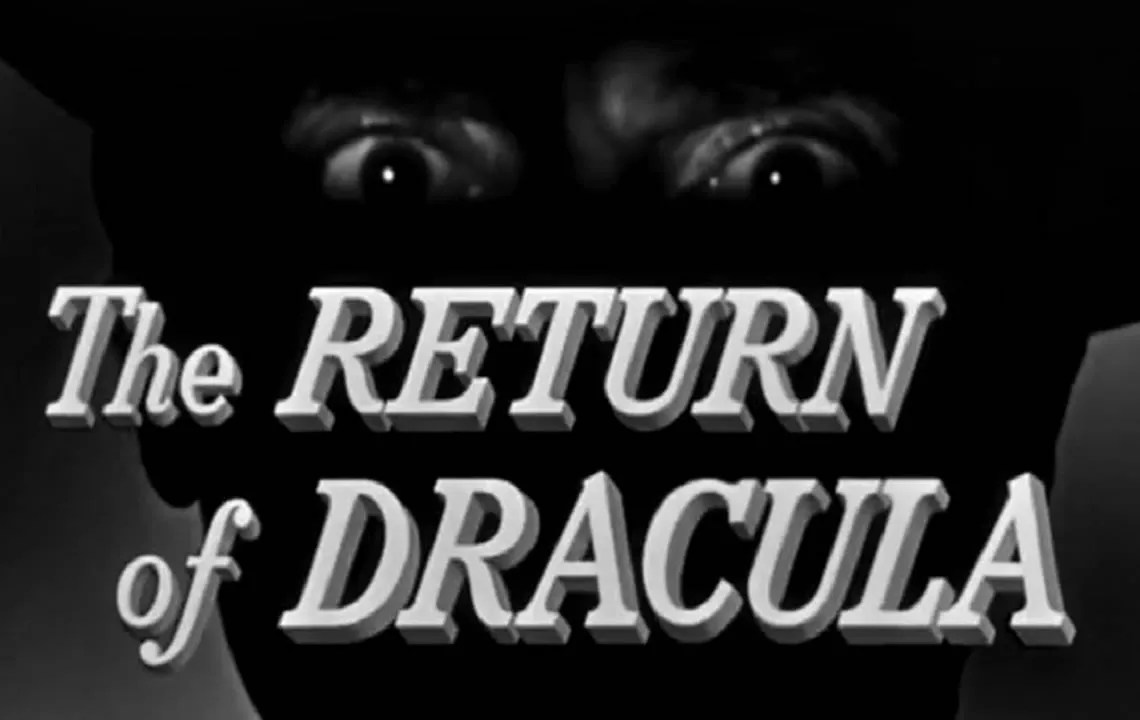 🎥 The Return Of Dracula 🍷 ( 1958 ) FULL MOVIE 1