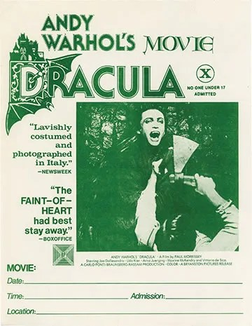 🎥 Andy Warhol's Blood for Dracula 🍷 (1974) FULL MOVIE 36