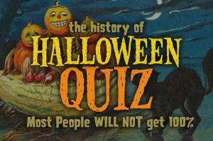 the History oƒ Halloween Quiz
