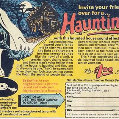 Classic and Vintage Halloween Publication Ads 1