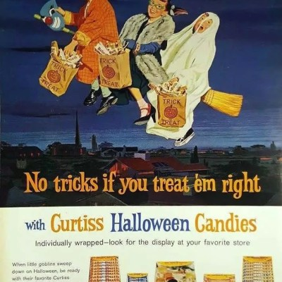 Classic and Vintage Halloween Publication Ads 4