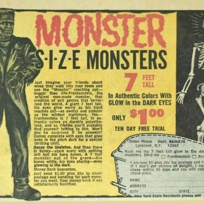 Classic and Vintage Halloween Publication Ads 2