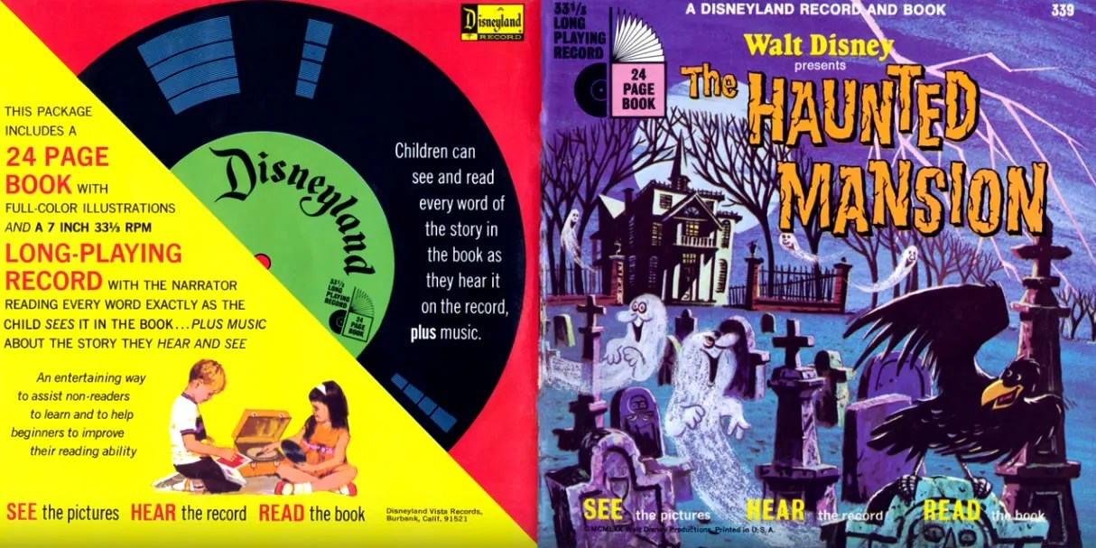 Disney's The Haunted Mansion Read-Along Record (1970) 4