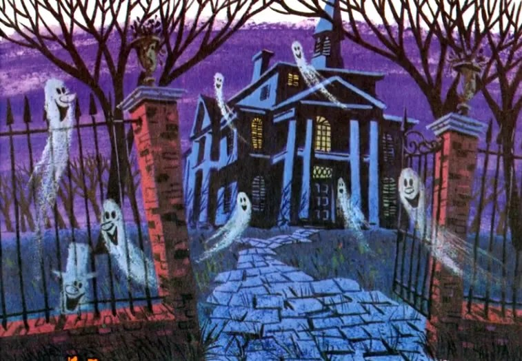 Disney's The Haunted Mansion Read-Along Record (1970) 1