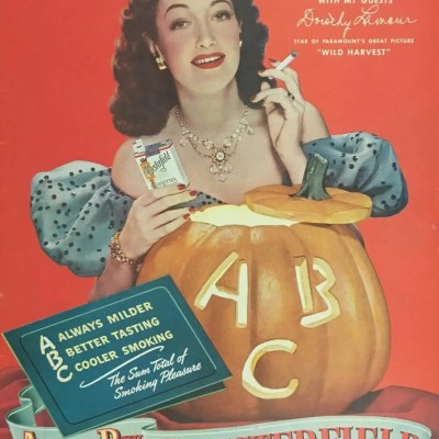 Classic and Vintage Halloween Publication Ads 13