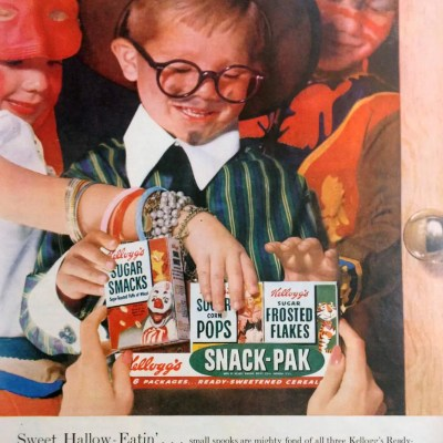 Classic and Vintage Halloween Publication Ads 29