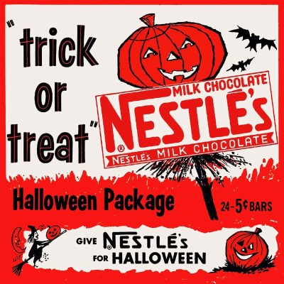 Classic and Vintage Halloween Publication Ads 33