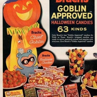 Brach's Halloween advertisement ad