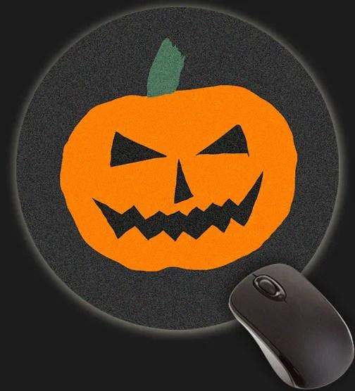 Halloween Forever Pumpkin Jackolantern Mouse Pad