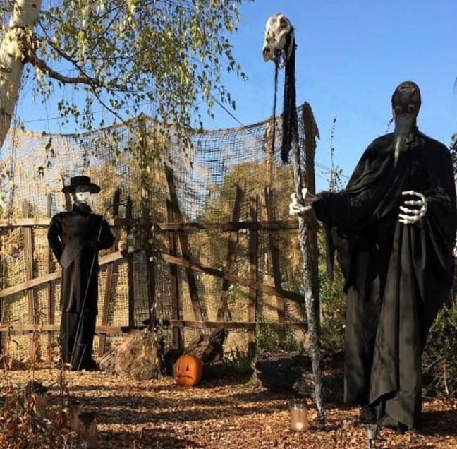 Evil Vines Cemetery Outdoor Yard Haunt Creepy Props
