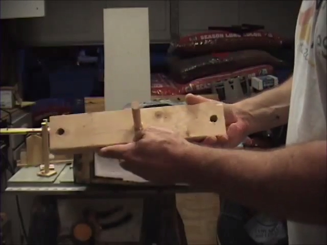 Moving Halloween Tombstone Prop Jig Template for Rods