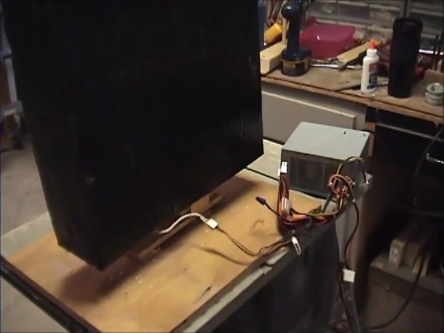 Moving Halloween Tombstone Prop Power Supply