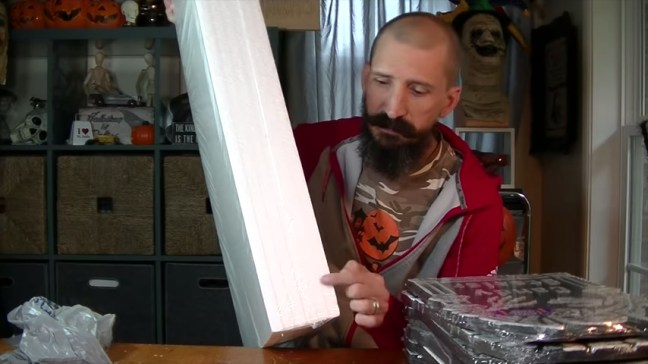 Upgrade Your Cheap Dollar Store Halloween Tombstones With Foam Sheets