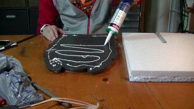 Upgrade Your Cheap Dollar Store Halloween Tombstones Glued With Foam