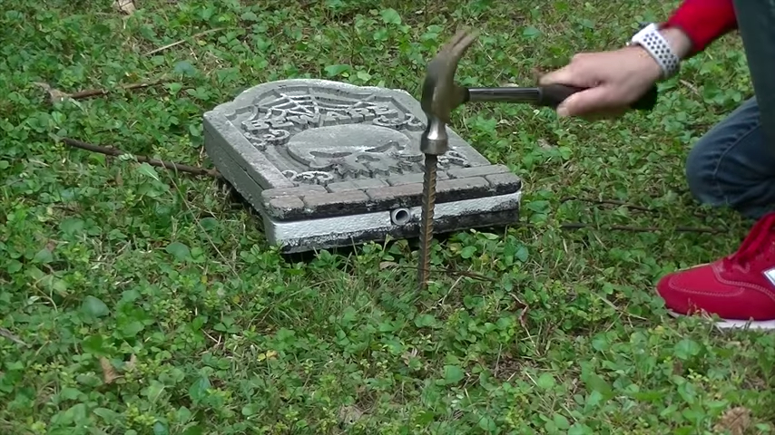 Upgrade Your Cheap Dollar Store Halloween Tombstones Rebar Ground Stakes